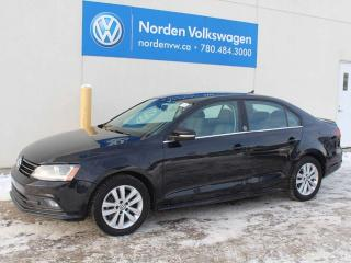 Used 2017 Volkswagen Jetta Sedan WOLFSBURG EDITION - VW CERTIFIED / SUNROOF / HEATED SEATS / PUSH START for sale in Edmonton, AB