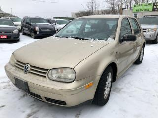 Used 2003 Volkswagen Golf GLS for sale in Pickering, ON