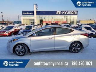 Used 2015 Hyundai Elantra GLS/SUNROOF/BACKUP CAM/HEATED SEATS for sale in Edmonton, AB