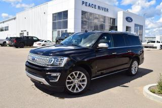 Used 2019 Ford Expedition Platinum Max 4dr 4WD Sport Utility for sale in Peace River, AB