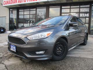 Used 2015 Ford Focus SE-BACK UP CAMERA-SUNROOF-BLUETOOTH-ALLOYS for sale in Scarborough, ON