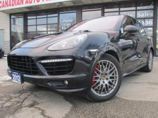 Used 2012 Porsche Cayenne Turbo-SPORT DESIGN PKG-DVD-BURMESTER-FULLY LOADED- for sale in Scarborough, ON