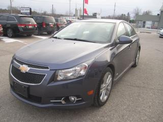 Used 2013 Chevrolet Cruze LT Turbo for sale in Simcoe, ON