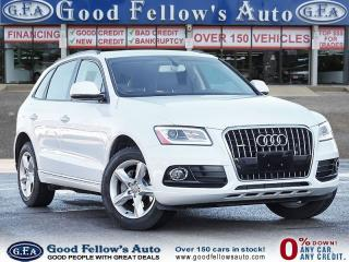 Used 2016 Audi Q5 KOMFORT QUATTRO 2.0L,  LEATHER SEATS, HEATED SEATS for sale in Toronto, ON