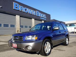 Used 2004 Subaru Forester XS for sale in Surrey, BC