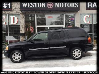 Used 2006 GMC Envoy SLT*POWER GROUP*DVD*LEATHER*SUNROOF!!* for sale in Toronto, ON