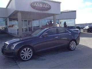 Used 2014 Cadillac ATS Luxury / AWD / NO PAYMENTS FOR 6 MONTHS !! for sale in Tilbury, ON