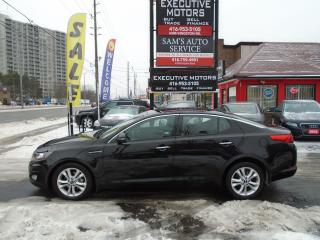 Used 2012 Kia Optima EX LUXURY / LOADED / PANO ROOF / PUSH START/ CLEAN for sale in Scarborough, ON