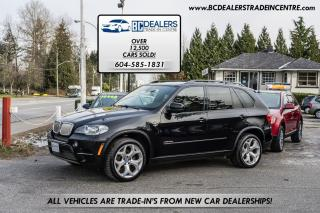 Used 2011 BMW X5 35d, Diesel M-Sport Pack, Navigation, Pano Roof for sale in Surrey, BC