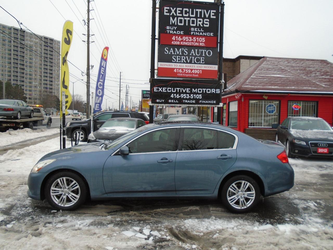 2010 Infiniti G37 Luxury / AWD / LIKE NEW MINT CONDITION / CERTIFIED