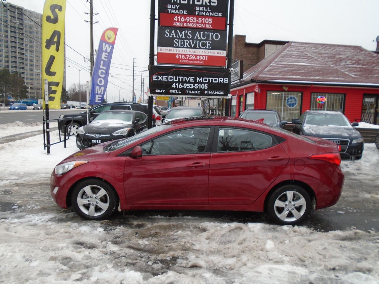 2013 Hyundai Elantra GLS/ LOADED /NEW BRAKES / NO ACCIDENT/ BLUETOOTH /