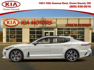 New 2019 Kia Stinger GT Limited with Red Interior for sale in Owen Sound, ON
