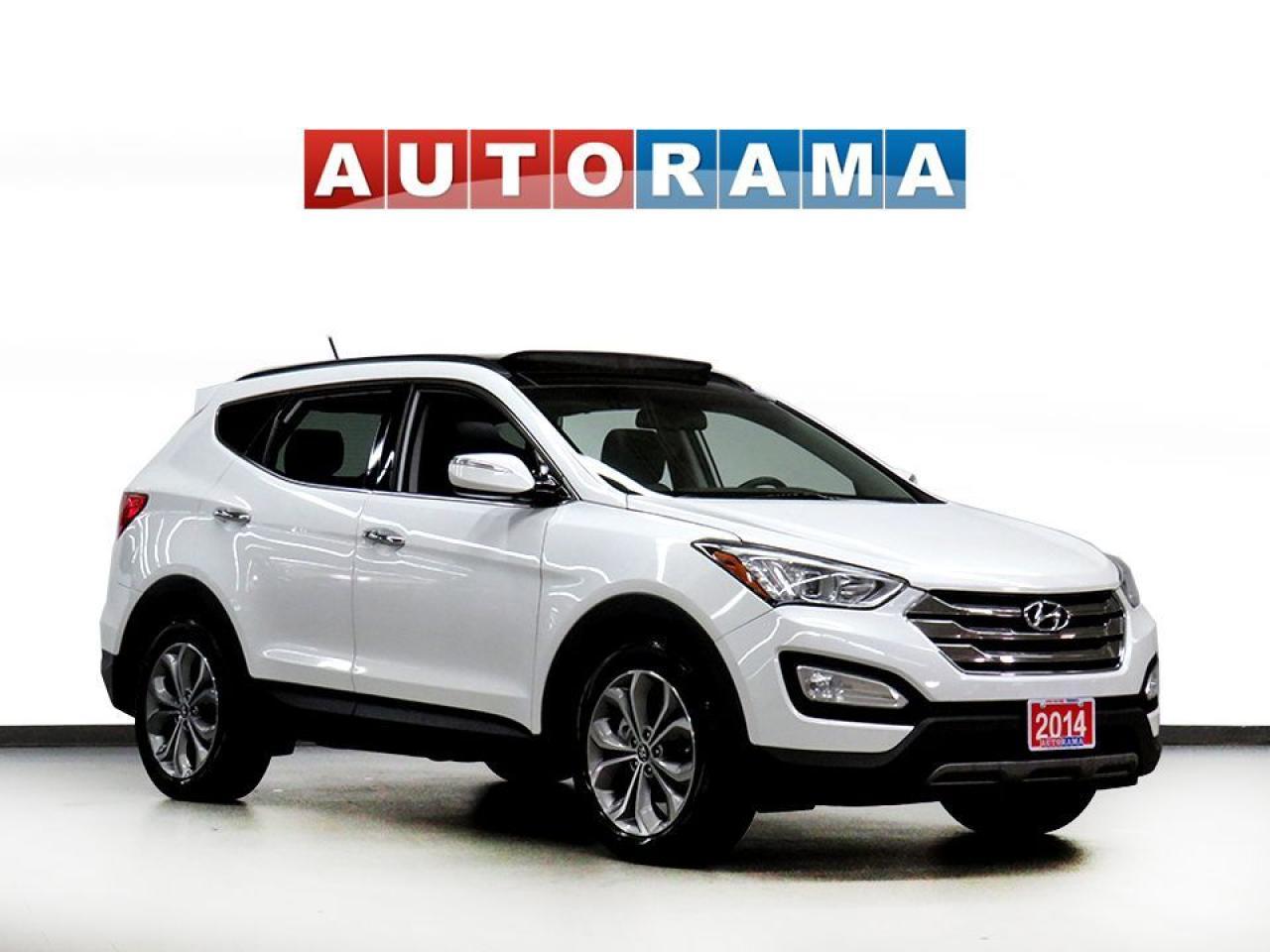 2014 Hyundai Santa Fe LIMITED LEATHER PAN SUNROOF NAVI BACK UP CAM AWD