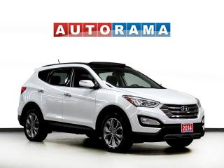 Used 2014 Hyundai Santa Fe LIMITED LEATHER PAN SUNROOF NAVI BACK UP CAM AWD for sale in Toronto, ON