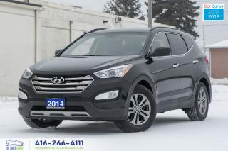 Used 2014 Hyundai Santa Fe AWD 4WD NO ACCIDENTS CERTIFIED SERVICE RECORDS for sale in Bolton, ON