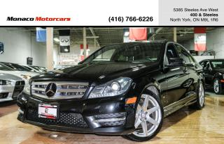 Used 2013 Mercedes-Benz C-Class C350 4MATIC - AMG|PANO|BACKUP|NAVI|PUSH for sale in North York, ON