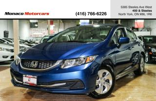 Used 2014 Honda Civic LX - HEATEDSEATS|BLUETOOTH|CERTIFIED for sale in North York, ON