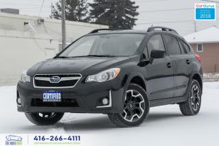 Used 2016 Subaru Crosstrek SPORTS PKG 1 OWNER NO ACCIDENTS CERTIFIED SERVICED for sale in Bolton, ON
