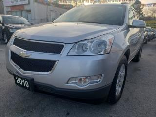 Used 2010 Chevrolet Traverse 8 PASSENGER/BLUETOOTH/1 YEAR WARRANTY/AUX for sale in Scarborough, ON