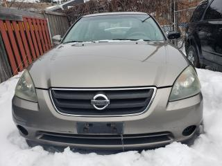 Used 2004 Nissan Altima Good Condition, Sunroof,Leather seats,Fully Load for sale in Scarborough, ON