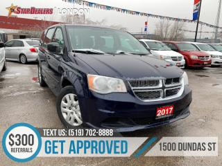 Used 2017 Dodge Grand Caravan CVP | AUTO LOANS APPROVED for sale in London, ON