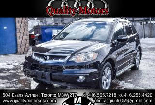 Used 2007 Acura RDX w/Technology Package nav rear cam. for sale in Etobicoke, ON
