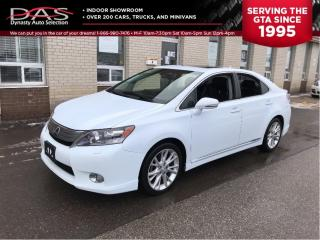 Used 2010 Lexus HS 250 h Premium Luxury Hybrid Navigation/Rear Camera for sale in North York, ON