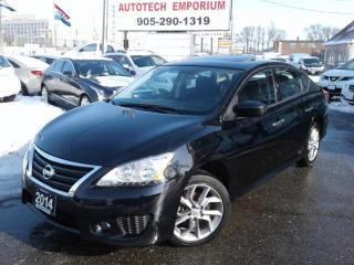 Used 2014 Nissan Sentra SR Premium Pkg/Navigation/Sunroof/Camera for sale in Mississauga, ON