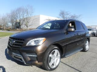 Used 2015 Mercedes-Benz ML-Class ML400 4MATIC for sale in Burnaby, BC
