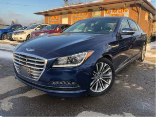 Used 2015 Hyundai Genesis 3.8 Luxury AWD Navigation Leather Panoramic Roof for sale in St Catharines, ON