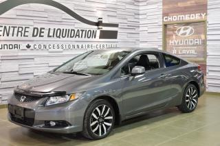 Used 2013 Honda Civic Ex-L+toit+mags+cuir for sale in Laval, QC