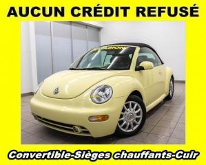 Used 2004 Volkswagen New Beetle Gls Sièges Ch. Cuir for sale in St-Jérôme, QC