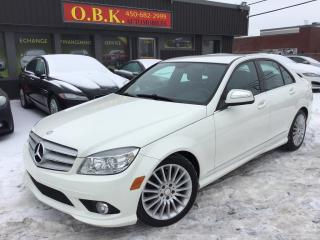 Used 2009 Mercedes-Benz C-Class Awd-Awd for sale in Laval, QC