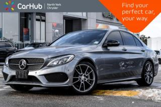 Used 2016 Mercedes-Benz C-Class C 450 AMG|Memory,ParkingPkgs|HeadsUpDisp|PanoSunroof for sale in Thornhill, ON