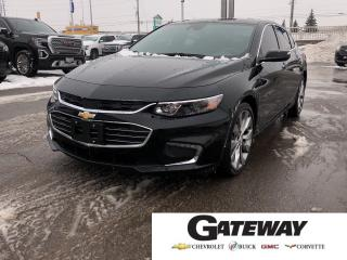 Used 2017 Chevrolet Malibu Premier|2.0T|2LZ|NAVI|LANE DEPART| for sale in Brampton, ON