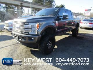 Used 2018 Ford F-350 Super Duty SRW Platinum 4x4 Crew Cab 160wb *No Accidents* for sale in New Westminster, BC