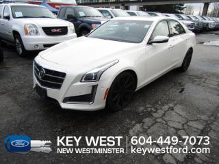 Used 2014 Cadillac CTS Sedan Vsport Sunroof Leather Nav Cam Heated Seats for sale in New Westminster, BC