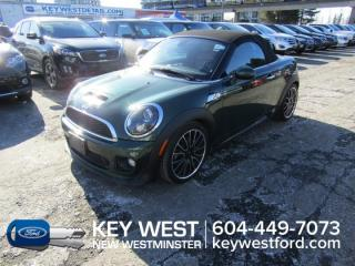 Used 2013 MINI Cooper Roadster S Convertible *No Accidents* Leather for sale in New Westminster, BC