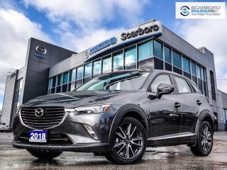 Used 2018 Mazda CX-3 GT|NAV|LEATHER|HEAD UP DISPLAY for sale in Scarborough, ON