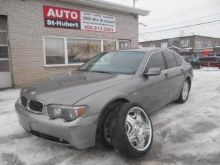 Used 2002 BMW 745 i for sale in St-Hubert, QC