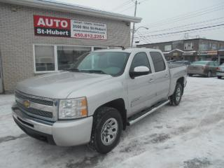 Used 2011 Chevrolet Silverado 4X4 CHEYENNE LS CREW CAB for sale in St-Hubert, QC