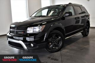 Used 2018 Dodge Journey CROSSROAD AWD + 7 PASSAGERS + NAV + DVD for sale in St-Jean-Sur-Richelieu, QC