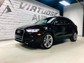 Used 2015 Audi Q3 TECHNIK + SPORT for sale in Rimouski, QC