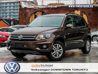Used 2015 Volkswagen Tiguan TRENDLINE CONVENIENCE PACKAGE 2 SETS OF TIRES for sale in Toronto, ON