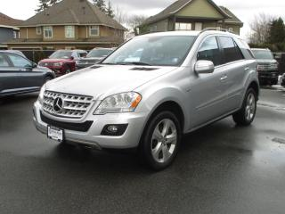 Used 2010 Mercedes-Benz ML-Class for sale in Surrey, BC