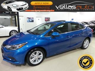 Used 2018 Chevrolet Cruze LT| SUNROOF| APPLE CARPLAY| RCAMERA for sale in Vaughan, ON
