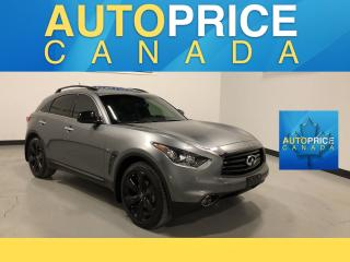 Used 2016 Infiniti QX70 Sport SPORT PKG|NAVI AND MORE for sale in Mississauga, ON