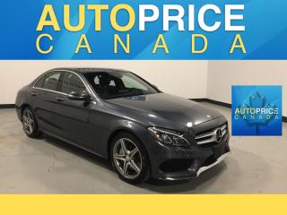 Used 2015 Mercedes-Benz C-Class SPRT PKG|NAVIGATION|PANOROOF|LEATHER for sale in Mississauga, ON