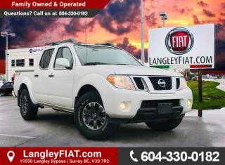 Used 2019 Nissan Frontier PRO-4X 4X4, LOW KM! NO ACCIDENTS, B.C. OWNED! for sale in Surrey, BC