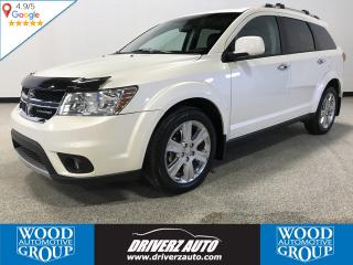 Used 2013 Dodge Journey CLEAN CARFAX, REMOTE START, LEATHER, ROOF, DVDz for sale in Calgary, AB